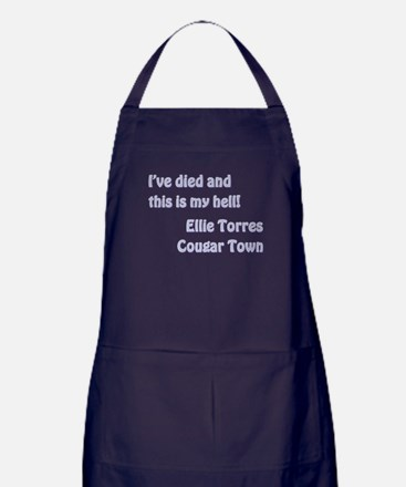 I'VE DIED AND... Apron (dark)
