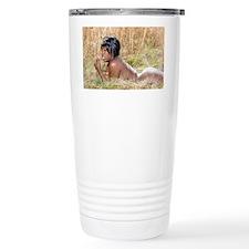 Beautiful, Busty Nude W Travel Mug