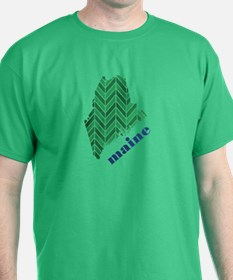 Chevron Maine T-Shirt