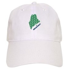 Chevron Maine Baseball Cap