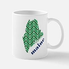 Chevron Maine Mug