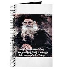 Leo Tolstoy Anna Karenina Journal