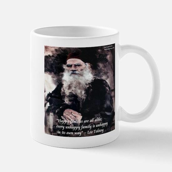 Leo Tolstoy Anna Karenina Mugs