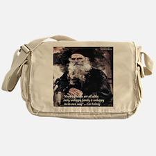 Leo Tolstoy Anna Karenina Messenger Bag