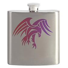 eagle tribal tattoo design Flask