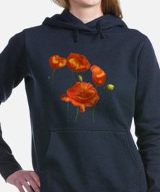 Poppies Hooded Sweatshirt