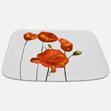 Poppies Bathmat