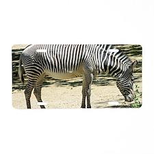 Zebra012 Aluminum License Plate