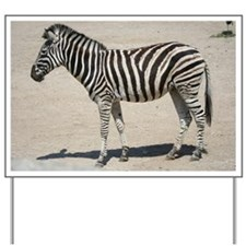 Zebra015 Yard Sign