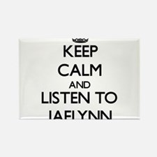 Keep Calm and listen to Jaelynn Magnets