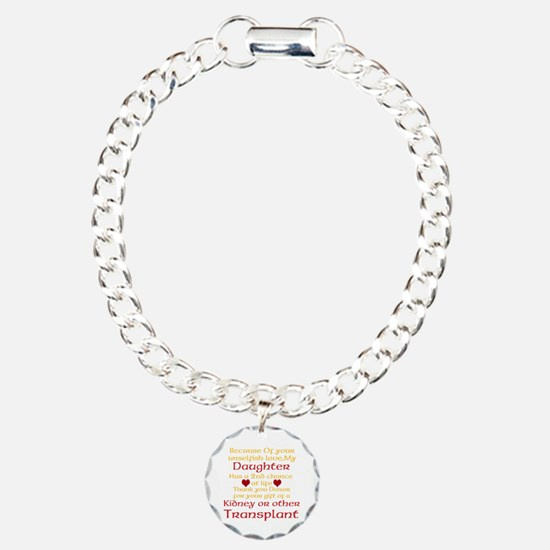 Personalize Transplant Donor Thank You Bracelet