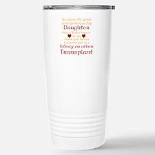 Personalize Transplant Donor Thank You Travel Mug