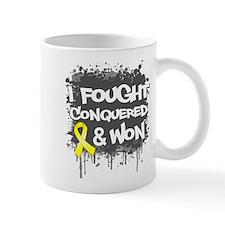 Testicular Cancer Fought Won Small Mug
