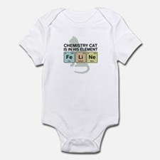 Chemistry Cat Infant Bodysuit