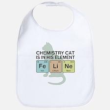 Chemistry Cat Bib