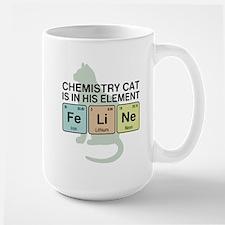 Chemistry Cat Ceramic Mugs