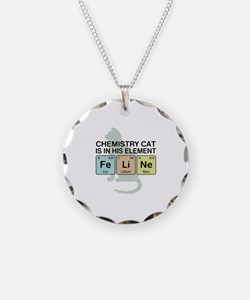 Chemistry Cat Necklace