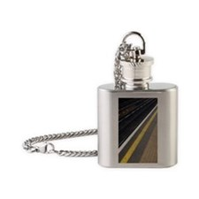 Tubelines Flask Necklace