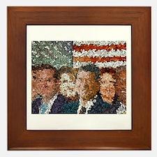 Conservative Americans Framed Tile