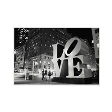 New York Love Rectangle Magnet