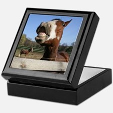 Laughing Horse Keepsake Box