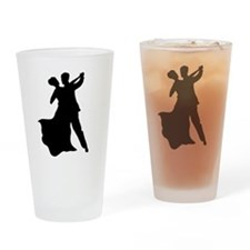 Dancing Couple Drinking Glass