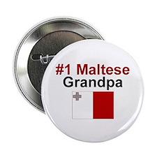 Malta #1 Grandpa Button