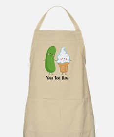 Personalized Pickle and Ice Cream Apron