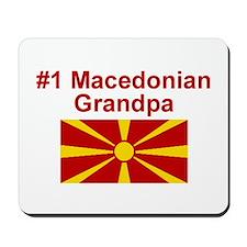 #1 Macedonian Grandpa Mousepad