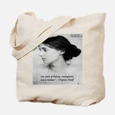 Virginia Woolf On Writing Tote Bag