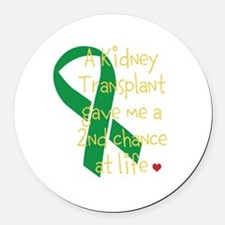 2nd Chance At Life (Kidney) Round Car Magnet
