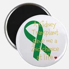 "2nd Chance At Life (Kidney) 2.25"" Magnet (100 pack"