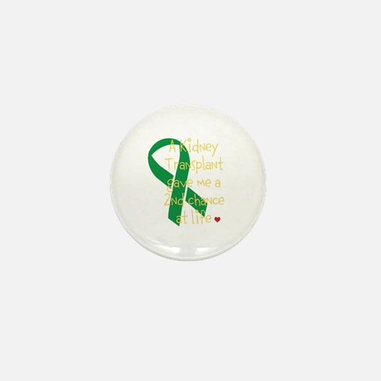 2nd Chance At Life (Kidney) Mini Button