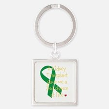 2nd Chance At Life (Kidney) Square Keychain