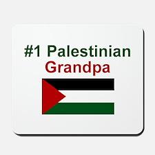 Palestine #1 Grandpa Mousepad