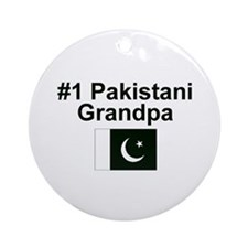 Pakistan #1 Grandpa Keepsake Ornament
