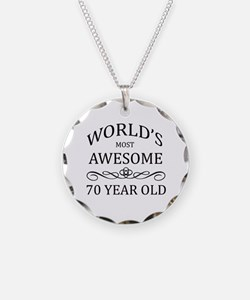 World's Most Awesome 70 Year Old Necklace Circle C