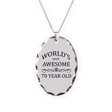 World's Most Awesome 70 Year Old Necklace Oval Cha