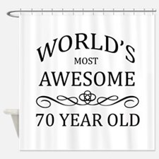 World's Most Awesome 70 Year Old Shower Curtain