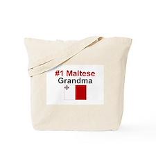 Malta #1 Grandma Tote Bag