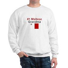 Malta #1 Grandma Sweatshirt