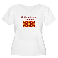 #1 Macedonian Grandma T-Shirt