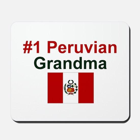 Peru #1 Grandma Mousepad