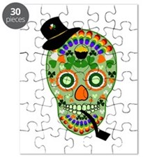 Irish Sugar Skull Puzzle
