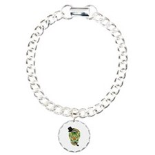 Irish Sugar Skull Bracelet