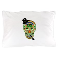 Irish Sugar Skull Pillow Case