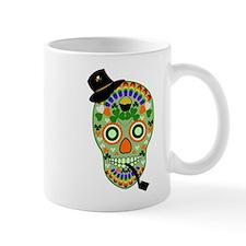 Irish Sugar Skull Mug