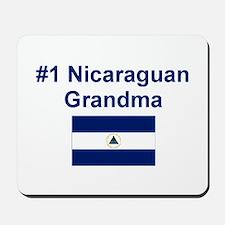 Nicaragua #1 Grandma Mousepad