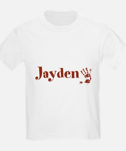 Brown Personalized Name T-Shirt