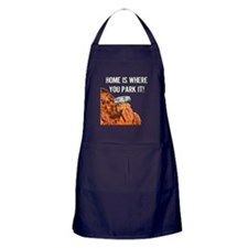 Home Is Where You Park It - Fifth Whe Apron (dark)